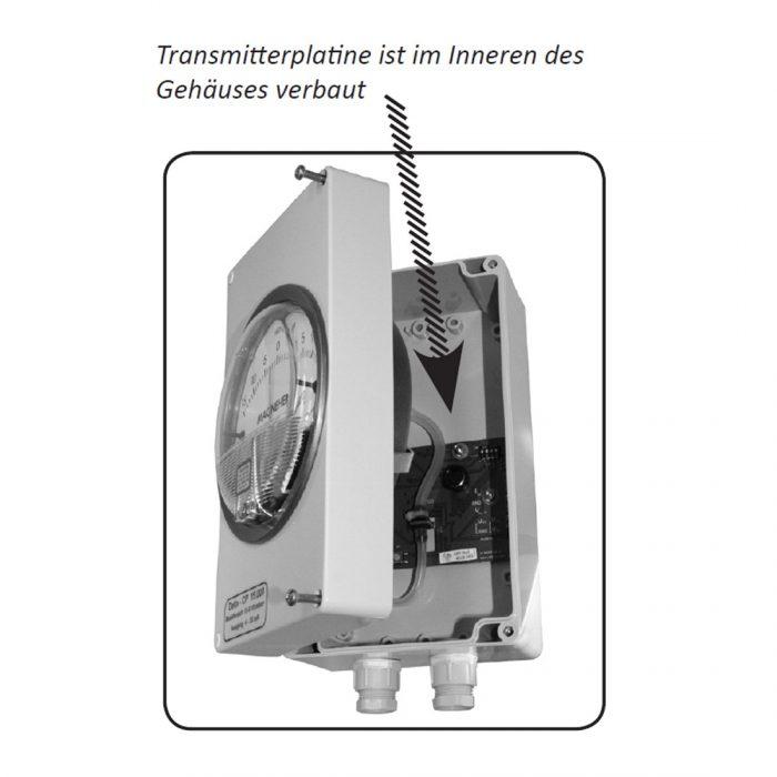 DELTA CP Messumformer mit Analoganzeige für Differenzdruck-164