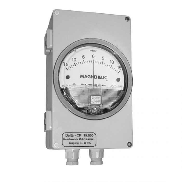 DELTA CP Messumformer mit Analoganzeige für Differenzdruck-0