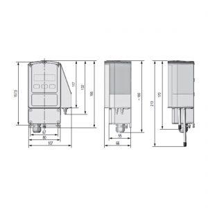ExCos-P Differenzdruck-Transmitter für Ex-Zonen mit Digitalanzeige-224