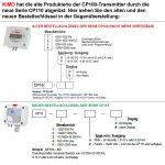 KIMO CP110 Messumformer für Differenzdruck-1449