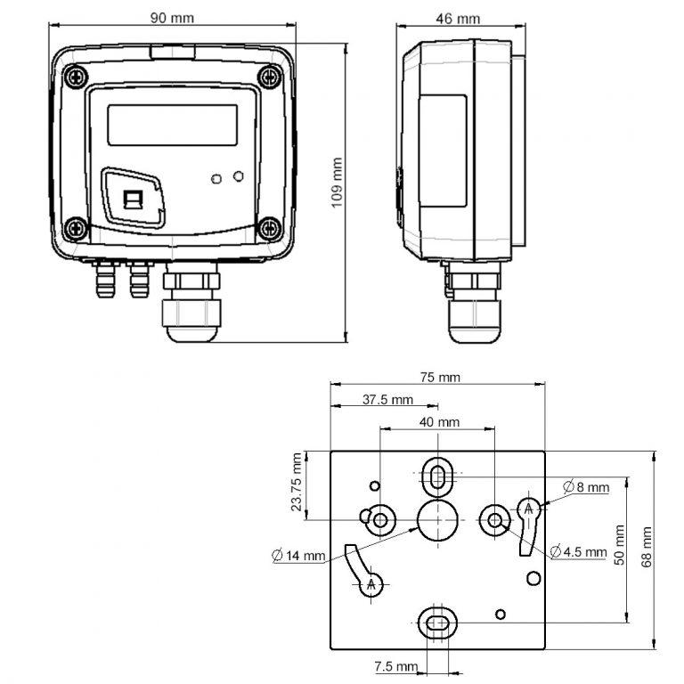 KIMO CP110 Messumformer für Differenzdruck-1147