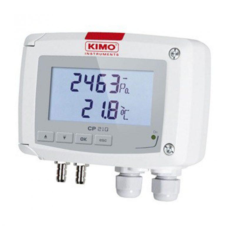 KIMO CP210-R Messumformer für Differenzdruck, optional mit Strömungsfunktion-0