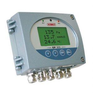 KIMO CP300 Messumformer für Differenzdruck und Temperatur, optional mit Strömungsfunktion-0