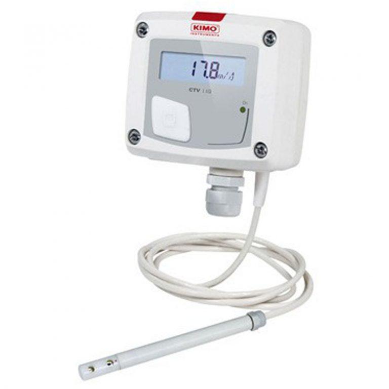 KIMO CTV110 – Messumformer für Luftgeschwindigkeit und Temperatur-0