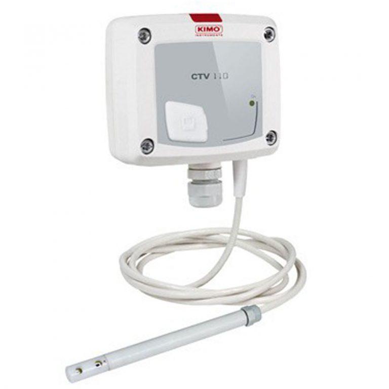 KIMO CTV110 – Messumformer für Luftgeschwindigkeit und Temperatur-1159