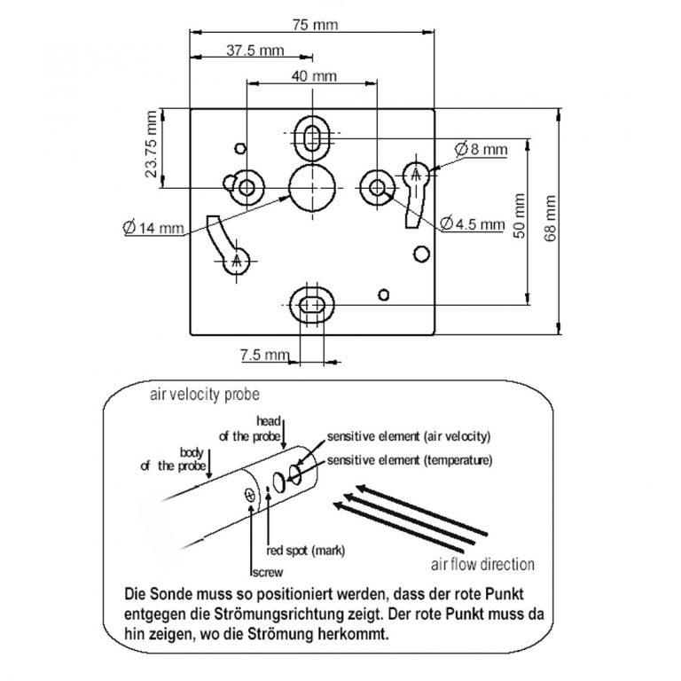 KIMO CTV110 – Messumformer für Luftgeschwindigkeit und Temperatur-1157
