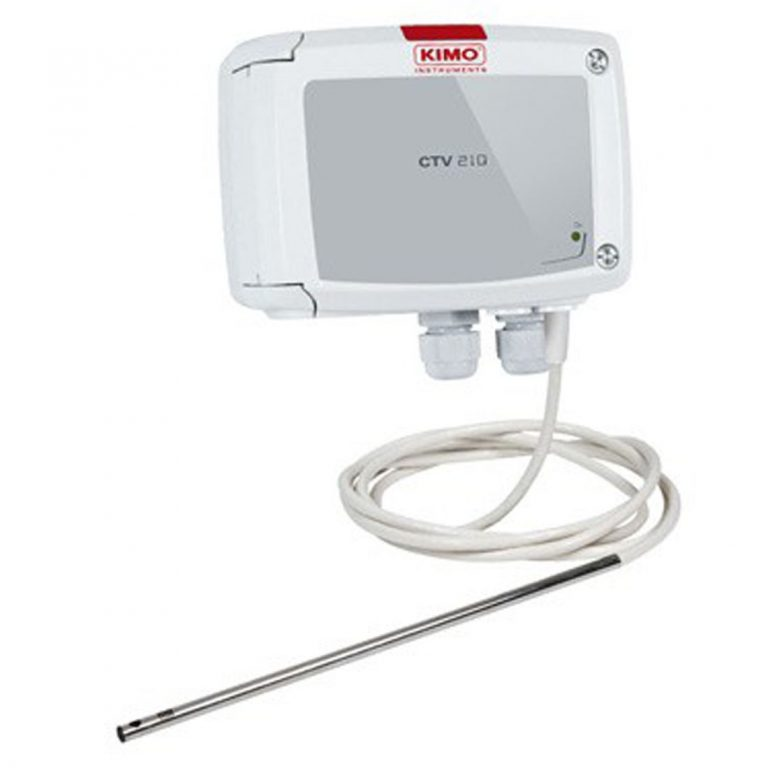 KIMO CTV210-R – Messumformer für Luftgeschwindigkeit, Volumenstrom und Temperatur-1167