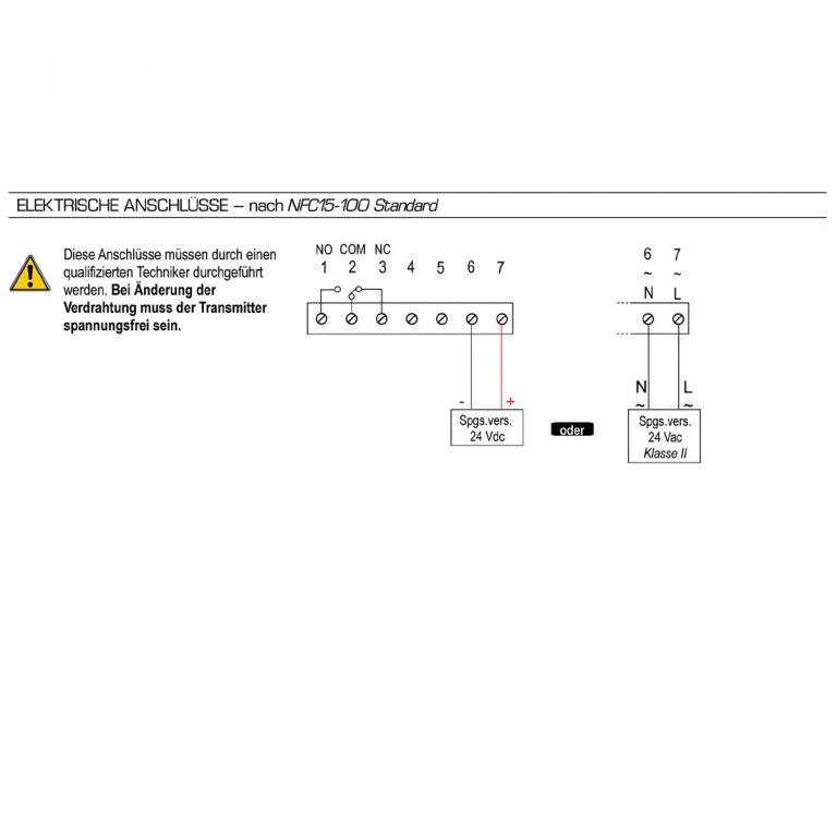 KIMO PST Digitales Manometer mit Anzeige und einem Schaltkontakt-1141