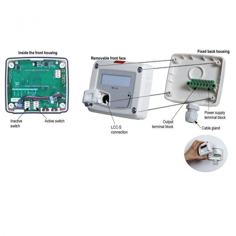 KIMO TH110 Temperatur- und Feuchtetransmitter-1187