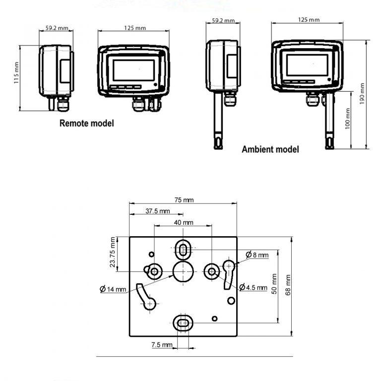 KIMO TH210 Temperatur- und Feuchtetransmitter-1239