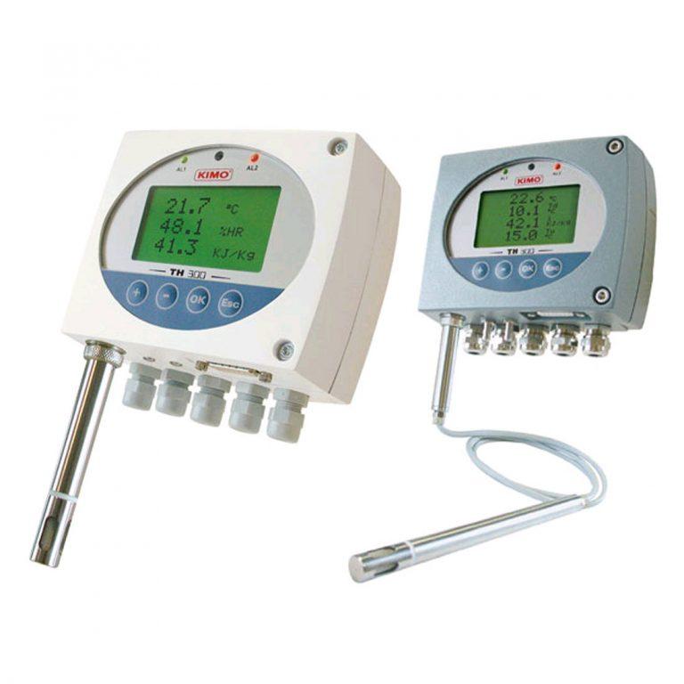 KIMO TH300 Temperatur- und Feuchtetransmitter ohne Sonde-0