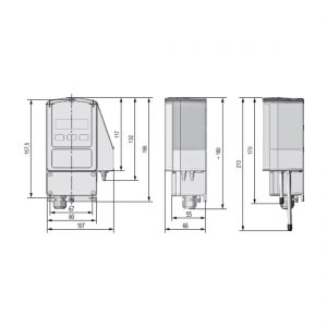 RedCos-P Differenzdruck-Transmitter für Ex-Zonen mit Digitalanzeige-226