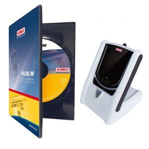 KIMO Set KILOG-FR Funkdatenlogger-Software mit Funk-Basisstation und USB-Kabel-0