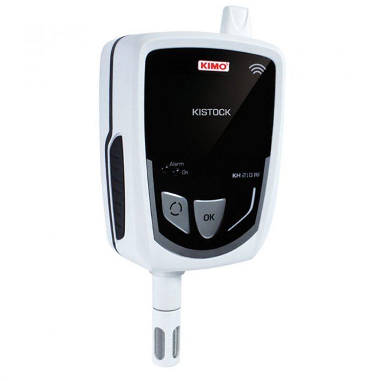 KIMO KH-210 A-RF IP 65 Funkdatenlogger Temperatur, Feuchte (interner Sensor), Temperatur NTC, Strom, Spannung (optional über 1x 8-poliger Mini-DIN)-454