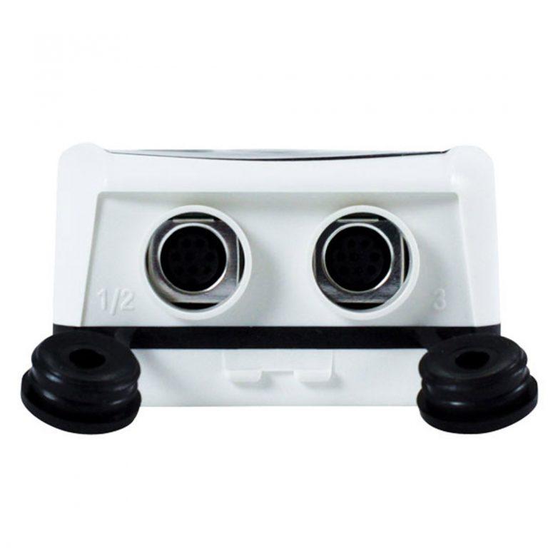 KIMO KH-210-DO-RF IP 65 Funkdatenlogger Temperatur, Feuchte (abgesetzter Sensor), Temperatur NTC, Strom, Spannung (optional über 1x 8-poliger Mini-DIN)-459