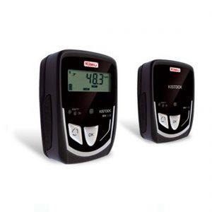 KIMO KT-110-A Datenlogger Temperatur (interner Sensor), Temperatur, Strom, Spannung (optional über 1x Klinke 2,5 stereo)-0