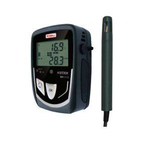 KIMO KH-210-DO Datenlogger Temperatur, Feuchte (abgesetzter Sensor), Temperatur, Strom, Spannung (optional über 2x Klinke 2,5 stereo)-0