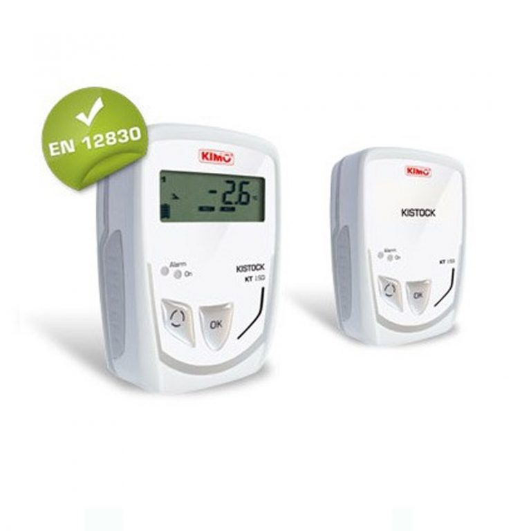 KIMO KT-150-A IP65 Datenlogger Temperatur (interner Sensor), Temperatur, Strom, Spannung (optional über 1x Klinke 2,5 stereo)-0