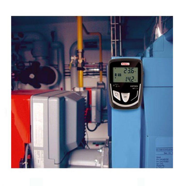 KIMO KT-210-A Datenlogger Temperatur (interner Sensor), Temperatur, Strom, Spannung (optional über 4x Klinke 2,5 stereo)-382