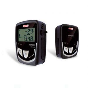 KIMO KT-210-A Datenlogger Temperatur (interner Sensor), Temperatur, Strom, Spannung (optional über 4x Klinke 2,5 stereo)-0