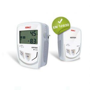 KIMO KT-250-I IP65 Datenlogger Temperatur (interner Sensor), Temperatur, Strom, Spannung (optional über 4x Klinke 2,5 stereo)-0