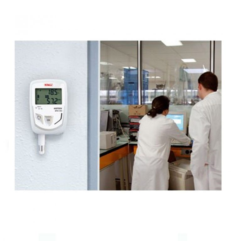 KIMO KTH-350-A IP65 Datenlogger Temperatur, Feuchte (abgesetzter Sensor), Temperatur, Feuchte, Strom, Spannung (optional über 1x 8-poliger Mini-DIN)-401