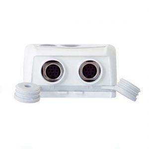 KIMO KTH-350 IP65 Datenlogger Temperatur, Feuchte, Strom, Spannung (optional über 2x 8-poliger Mini-DIN)-431
