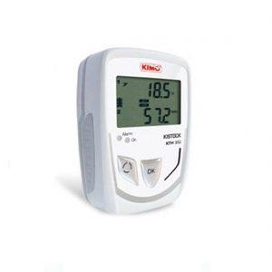 KIMO KTH-350 IP65 Datenlogger Temperatur, Feuchte, Strom, Spannung (optional über 2x 8-poliger Mini-DIN)-0
