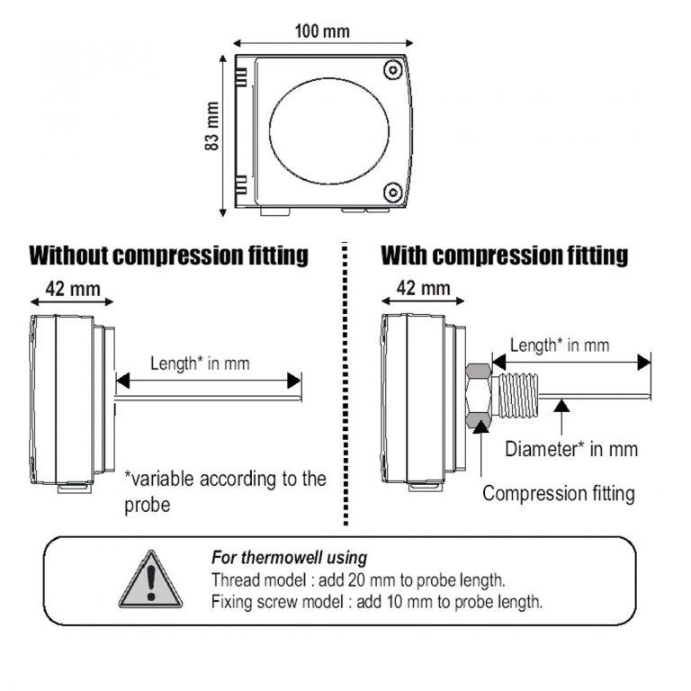 KIMO SG100 Temperaturtransmitter-275
