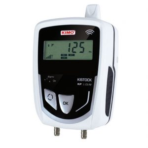 KIMO KP-110-RF IP 65 Funkdatenlogger Differenzdruck (interner Sensor)-0
