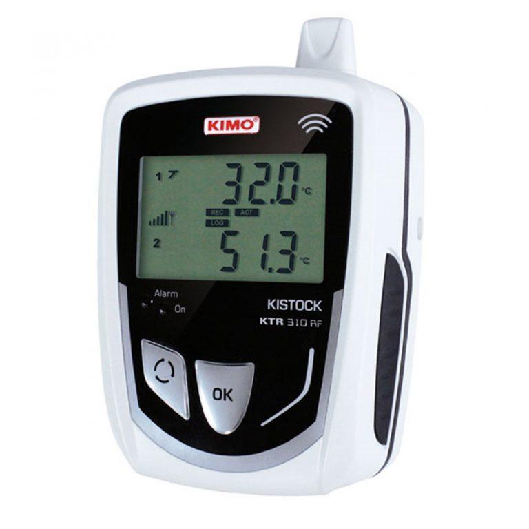 KIMO KTR-310-RF IP 65 Funkdatenlogger Temperatur Pt100 (optional über 2x 8-poliger Mini-DIN)-0