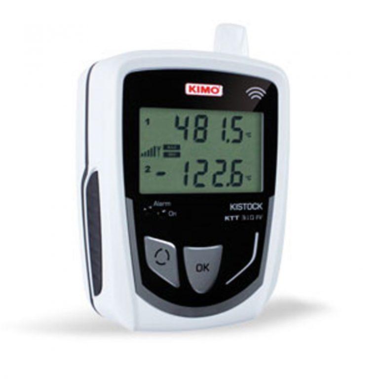 KIMO KTT-310-RF IP 54 Funkdatenlogger Temperatur (optional über 2x Thermoelement-Eingänge)-0