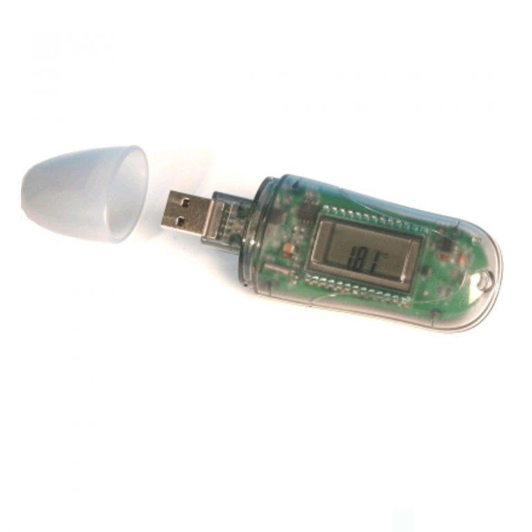 Microlite 8K USB-Datenlogger Temperatur 8.000 Messwerte mit Display-0