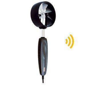HE-100-RF Funk-Flügelradsonde Geschwindigkeit, Temperatur Ø 100 mm-0