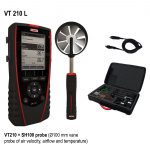 KIMO VT 210 Multifunktionsthermoanemometer, Hygrometer-1801