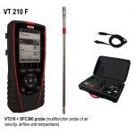 KIMO VT 210 Multifunktionsthermoanemometer, Hygrometer-1804