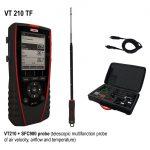 KIMO VT 210 Multifunktionsthermoanemometer, Hygrometer-1809