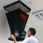 KIMO DBM-610 Volumenstrom-Messhaube für Differenzdruck, Temperatur, Luftgeschwindigkeit, Volumenstrom mit einer Messhaube-704