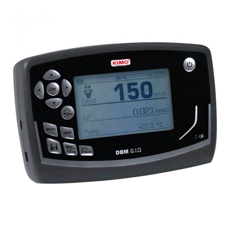 KIMO DBM-610 Volumenstrom-Messhaube für Differenzdruck, Temperatur, Luftgeschwindigkeit, Volumenstrom mit einer Messhaube-703