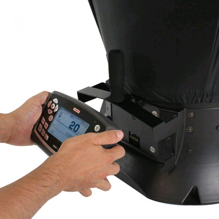 KIMO DBM-610 Volumenstrom-Messhaube für Differenzdruck, Temperatur, Luftgeschwindigkeit, Volumenstrom mit einer Messhaube-705