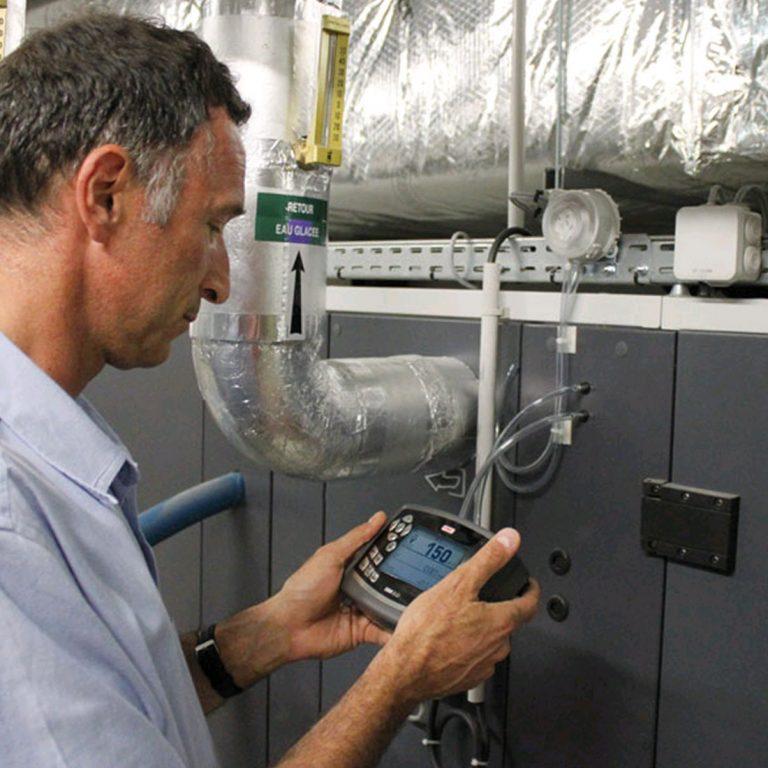 KIMO DBM-610 Volumenstrom-Messhaube für Differenzdruck, Temperatur, Luftgeschwindigkeit, Volumenstrom mit einer Messhaube-702