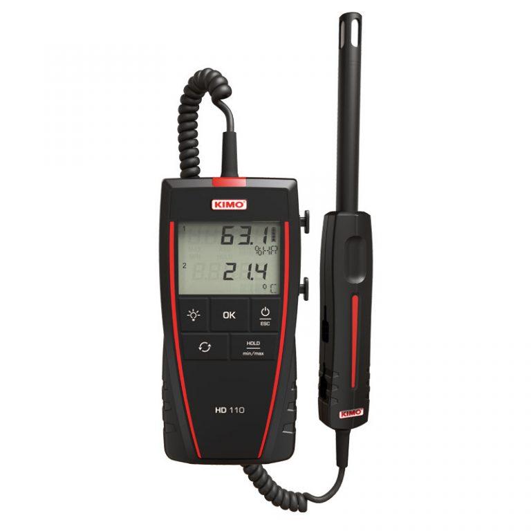 KIMO HD-110 Thermo-Hygrometer für Temperatur, Feuchte und Taupunkt-0