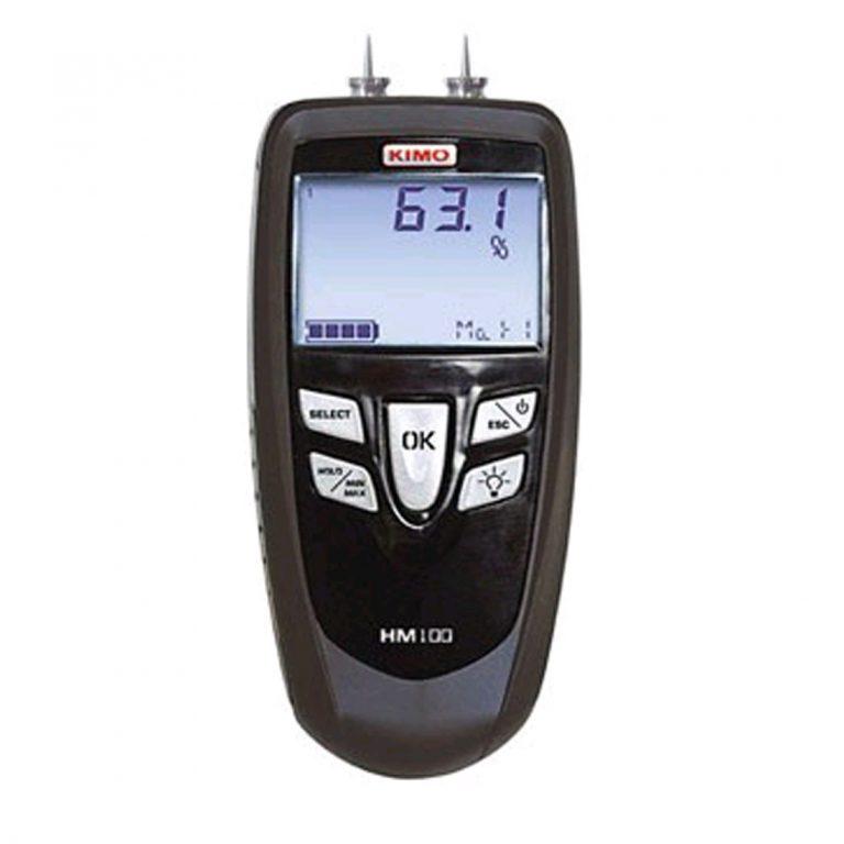 KIMO HM-100S Materialfeuchtemesser mit Einstechfühler-0