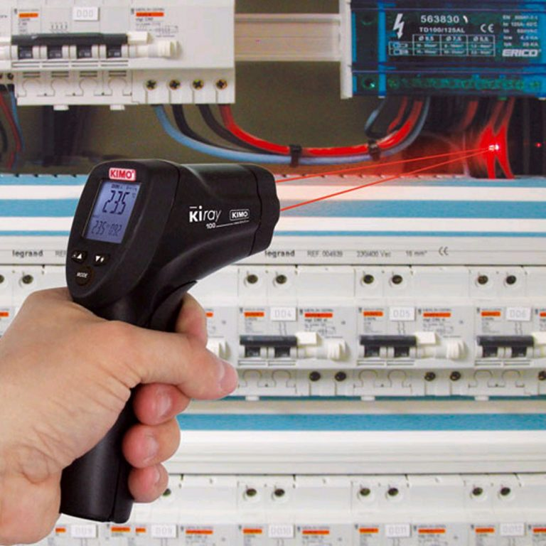 KIMO KIRAY 100 – IR-Thermometer mit Doppel-Laser bis 800 °C-727