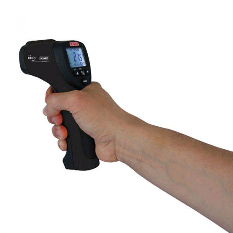 KIMO KIRAY 200 – IR-Thermometer mit zusätzlichem Thermoelementeingang-729