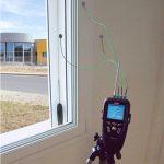 KIMO TM-200 U – Multifunktions-Thermometer-Komplettset zum Messen von U-Werten (Wärmedurchgangskoeeffizient)-752