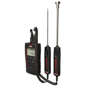 KIMO TR 110/112 Thermometer für Pt100 1/2 Kanal mit Kalibrierzertifikat-1847