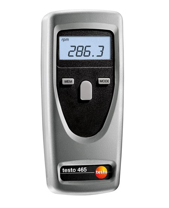 testo_465_non_contact_rpm_measurement